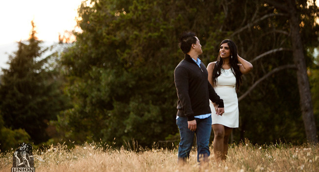 Venita & Darius' Engagement Photo Session in Queen Elizabeth Park