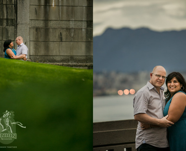 Kiran & Ingmar's Engagement Photo Session in Coal Harbour