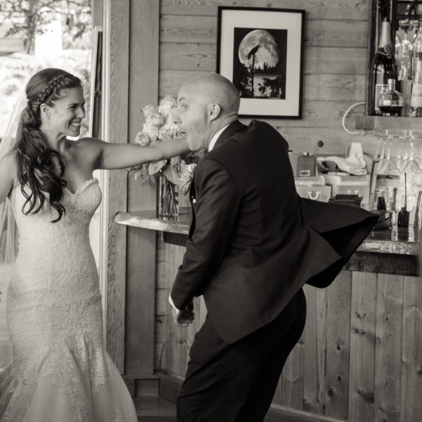 Emily & Cory's Destination Wedding at the West Coast Wilderness Lodge